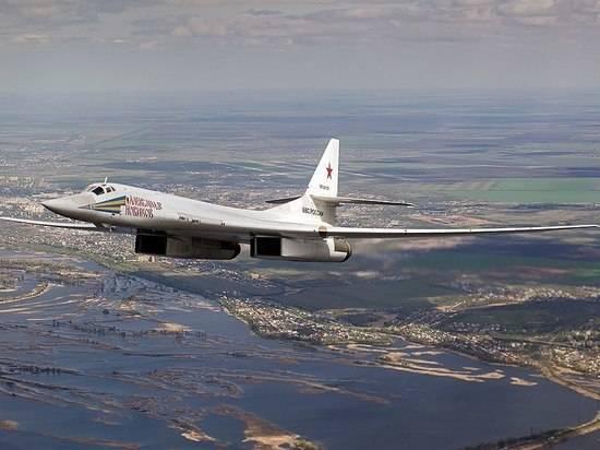 Над Норвежским и Баренцевом морями выполнили полет два Ту-160