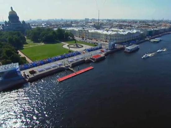 Роспотребнадзор запретил присутствие зрителей на главном военно-морском параде