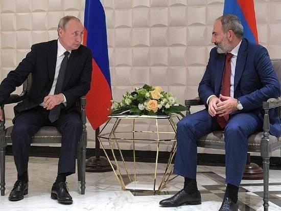 Пашинян позвонил Путину и обсудил ситуацию в Карабахе