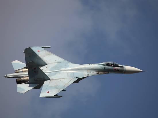 Российский Су-27 сопроводил истребитель ВВС Германии над Балтикой