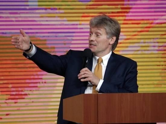 Песков назвал коммерческой темой переговоры по транзиту газа через Украину