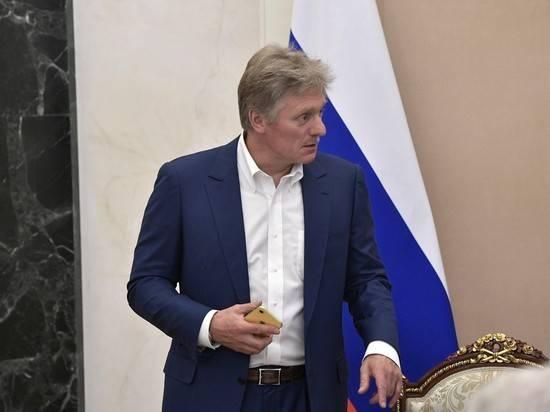 """В Кремле ознакомились со статьей Сафронова о """"шпионах"""""""