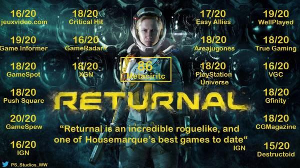 Sony: Returnal для PS5 — это мега-хит