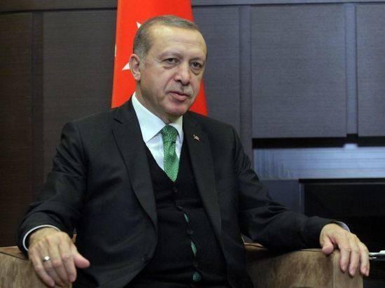 Эрдоган заявил о мобилизации всех сил на борьбу с пожарами