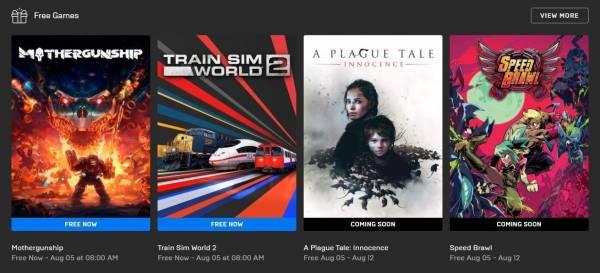 ПК-геймерам бесплатно раздадут A Plague Tale: Innocence и Speed Brawl в Epic Games Store