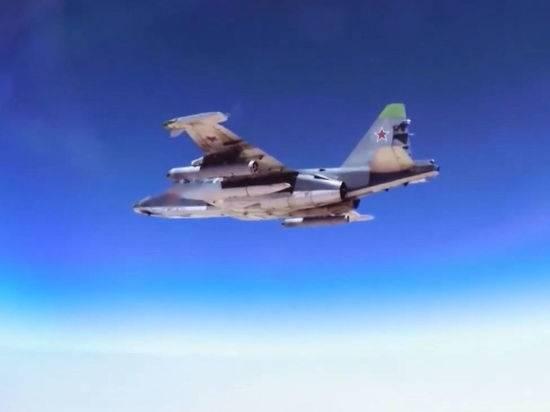 Россия перебросила штурмовики Су-25 в Таджикистан