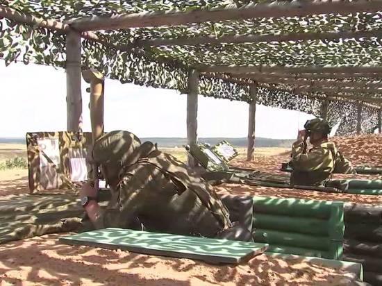 На учениях Российской армии «против НАТО» проверили боевых роботов