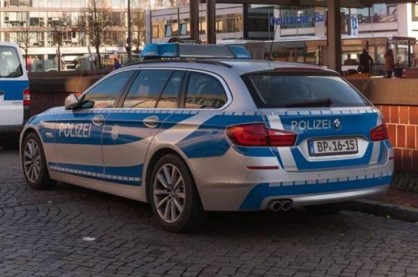 В Берлине неизвестный устроил стрельбу на парковке