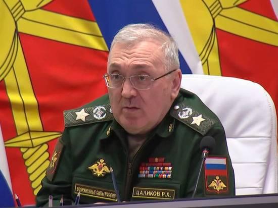 Первому замминистра обороны Руслану Цаликову исполнилось 65 лет