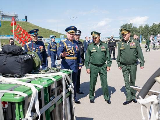 Шойгу назвал ВДВ войсками, способными выполнить любые задачи
