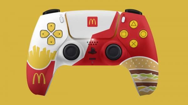 Sony не разрешила McDonald's выпустить собственный DualSense