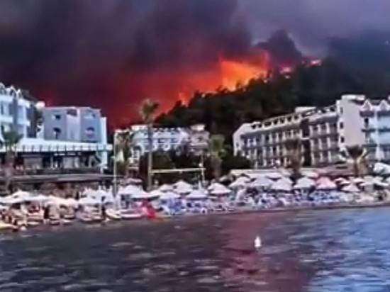 В Госдуме объяснили помощь Турции с пожарами заботой о россиянах
