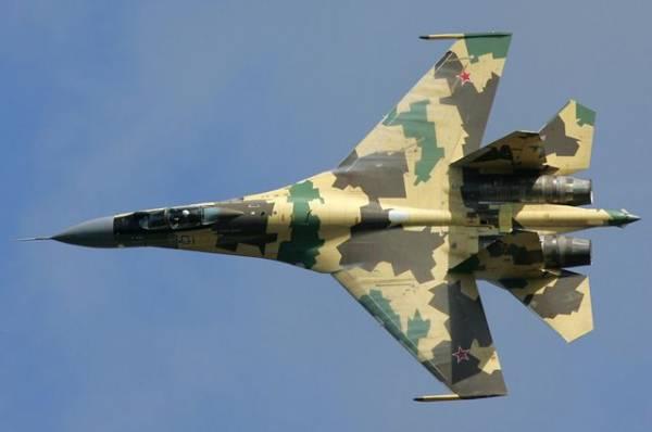 В Хабаровском крае из-за отказа двигателя разбился Су-35С