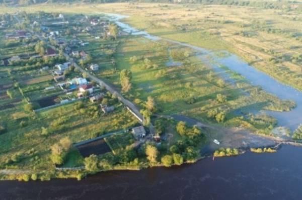 Из-за паводка вАмурской области обрушился мост через реку Синель