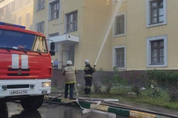 При пожаре в общежитии в Нижнем Новгороде пострадали иностранные студенты