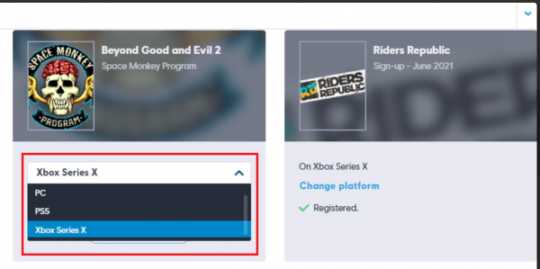 PlayStation 4 и Xbox One исчезли с сайта записи на бету Beyond Good and Evil 2