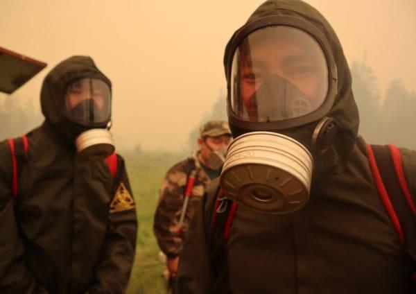 В России за сутки потушили 40 природных пожаров
