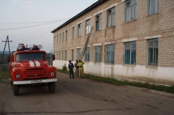 В Забайкалье при пожаре в больнице погибла женщина