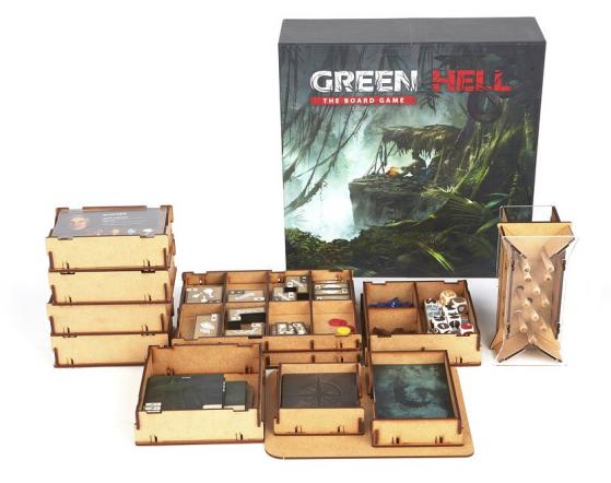 Началась Kickstarter-кампания по сбору средств на выпуск настольной игры Green Hell: The Board Game
