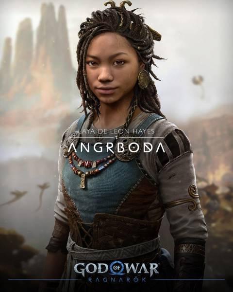 """""""Надеюсь, мне больше повторять не придется"""": Разработчик God of War: Ragnarok ответил критикам темнокожей Ангрбоды"""