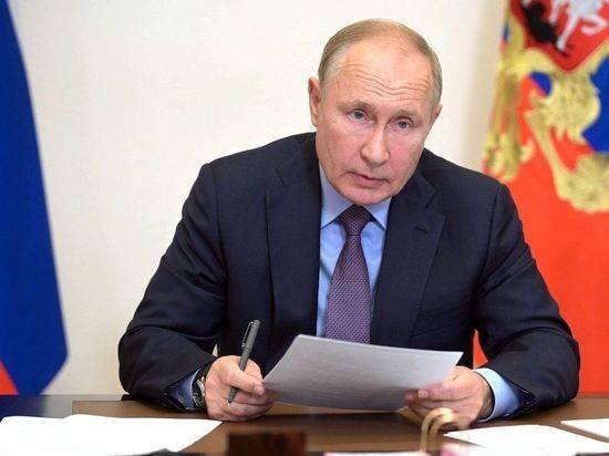 """Путин обсудил с """"Единой Россией"""" ее важные социальные инциативы"""