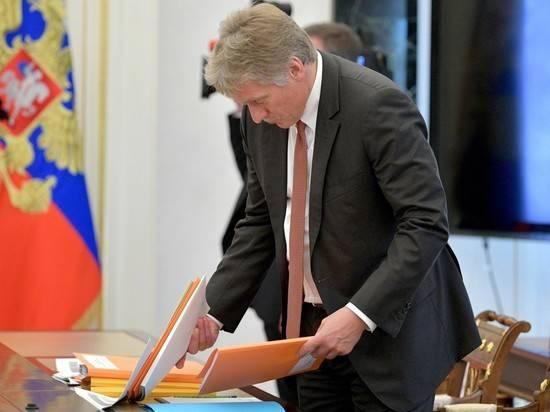 Песков отверг неэффективность российских вакцин после заражений вокруг Путина