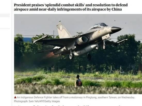 Тайваньские истребители отработали посадку на дорогах на учениях, имитирующих атаку Китая