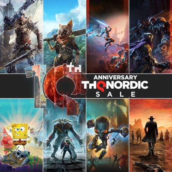 THQ Nordic в преддверии презентации дарит две игры в Steam и устраивает распродажу со скидками до 90%