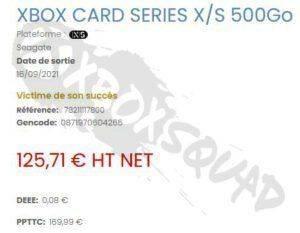 Утечка: Seagate выпустит более доступную внешнюю SSD-карту для Xbox Series X|S на 500 ГБ