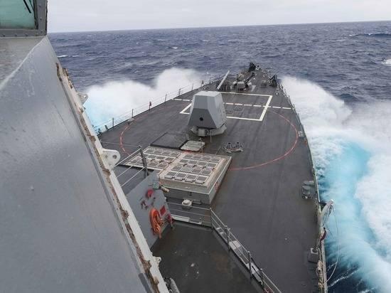 Китай обвинил США в создании угроз безопасности в Тайваньском проливе