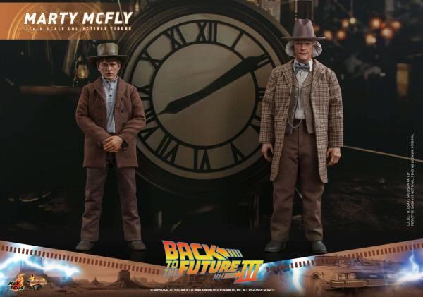 """Марти и Док на Диком Западе: Hot Toys показала фигурки главных героев фильма """"Назад в будущее 3"""""""