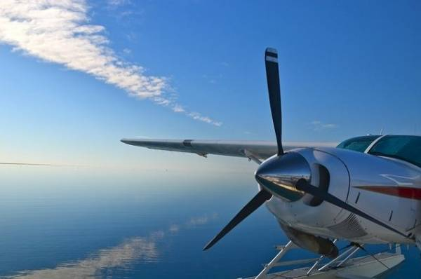 В ХМАО нашли обломки упавшего гидросамолета