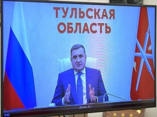 Дюмин победил на выборах губернатора Тульской области