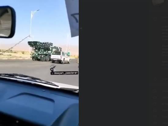 Иран перебрасывает значительные силы на границу с Азербайджаном