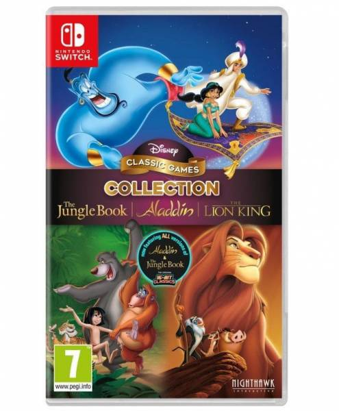 """Официально: Disney выпустит новый сборник с ремастерами игр """"Король лев"""", """"Аладдин"""" и """"Книга джунглей"""""""