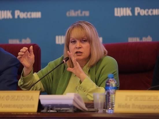 Памфилова анонсировала уголовные дела из-за нарушений на выборах