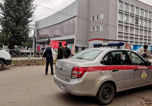 Подозреваемый в стрельбе в пермском вузе находится в больнице