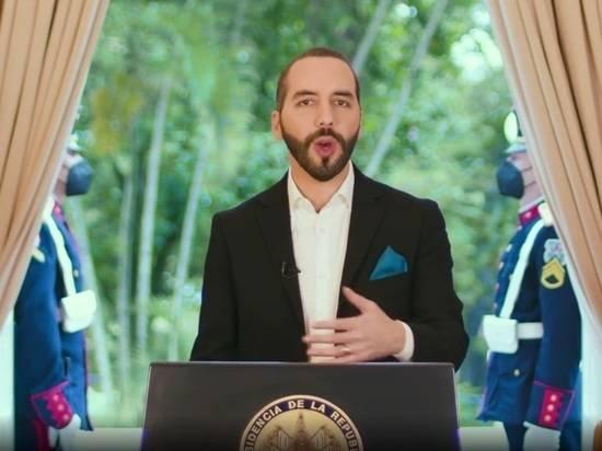 Президент Сальвадора в Twitter потребовал считать себя диктатором