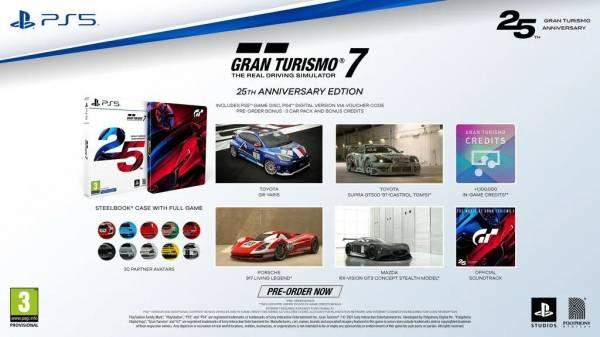 Gran Turismo 7 доступна для предзаказа в PS Store - базовое издание для PlayStation 5 стоит 5,499 рублей