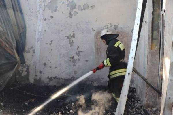 Пострадавший при пожаре в гостинице в Дагестане получил ожоги 100% тела