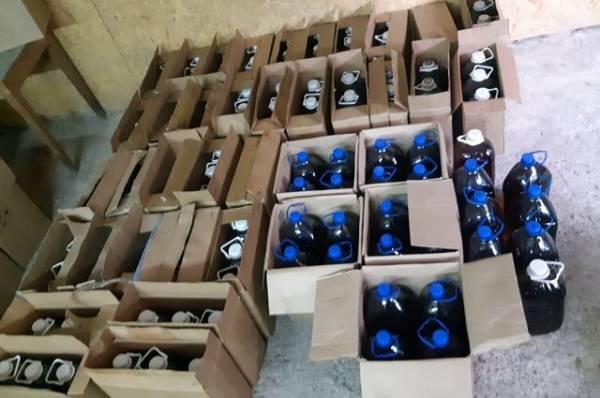 В Саратове задержали производителей контрафактного алкоголя