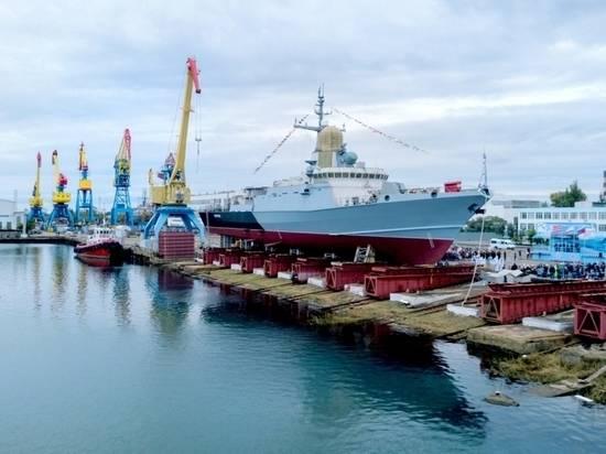 Построенный в Керчи боевой корабль назвали в честь киевского князя