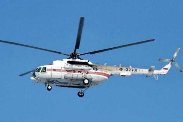 Вертолет Ми-8 вылетел на поиски пропавшего с радаров Ан-26