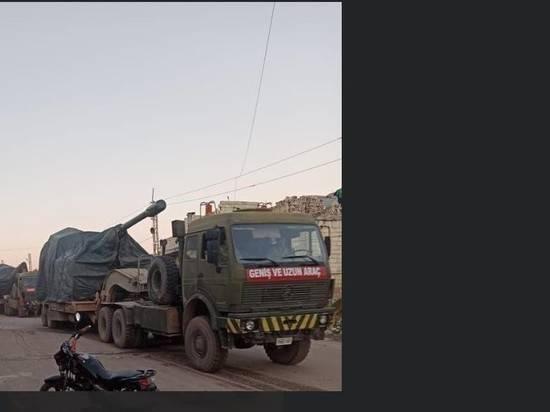 Турция начала переброску артиллерийских подразделений в Сирию