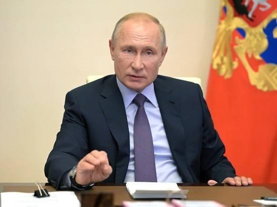 Путин назвал низкие доходы граждан главным врагом