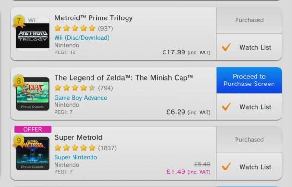Продажи Metroid Fusion, Metroid Prime Trilogy и Metroid: Samus Returns для Wii U и 3DS пошли вверх после выхода Metroid Dread
