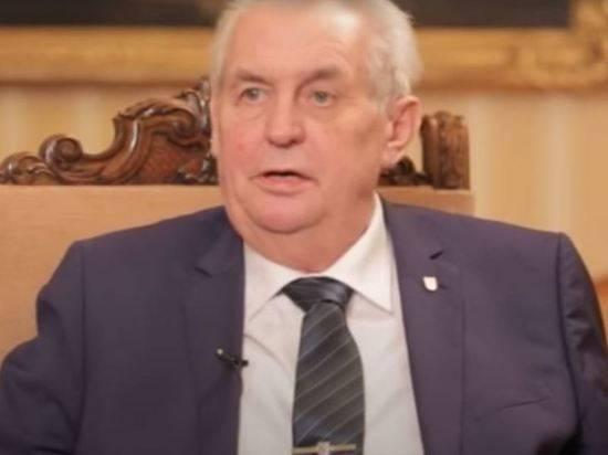 В Чехии назвали диагноз президента Земана