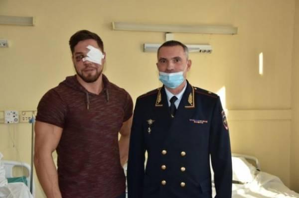 Избитый в метро москвич отказался от приглашения приехать в Дагестан