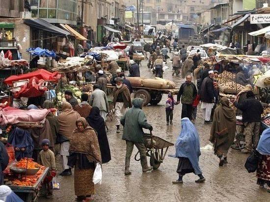 Талибы переименовали Базар Буша в Кабуле в Базар моджахедов