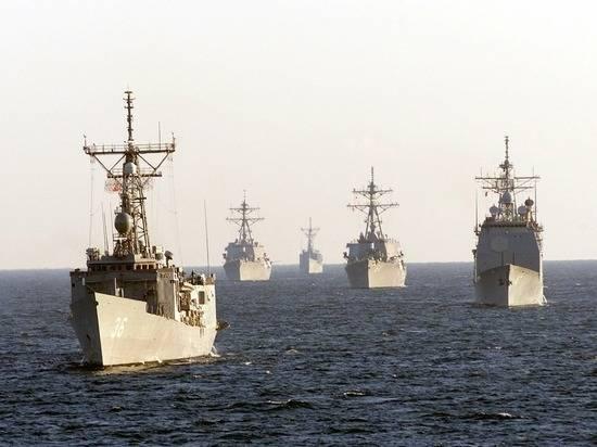 В Японском море начались совместные военные учения России и Китая